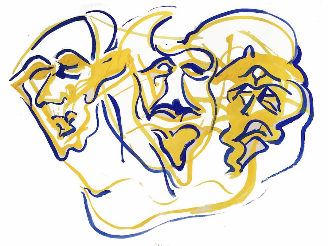 Figurative Sketch: Talking Heads